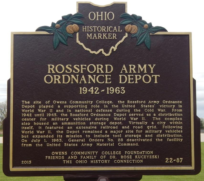 Ohio Historical Marker of John Pray, Founder of Waterville, Ohio
